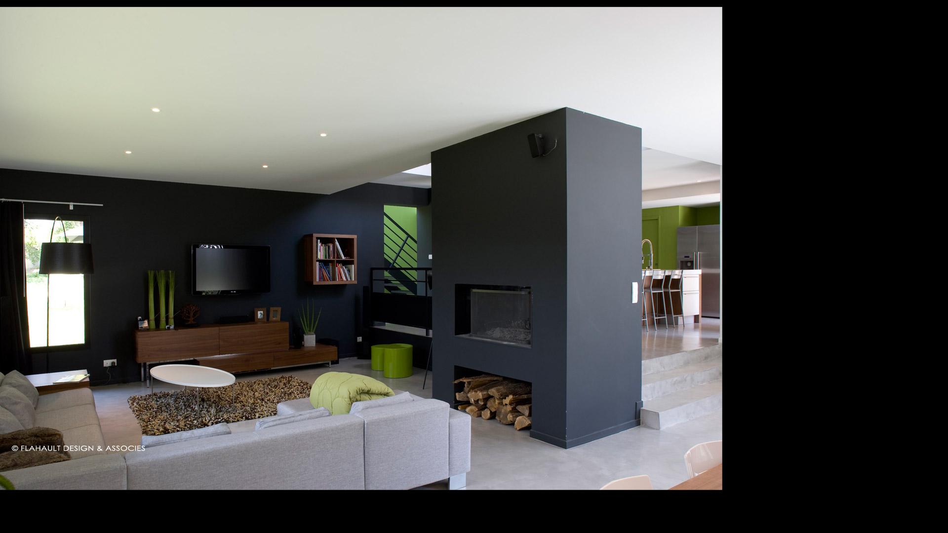 flahault chenet design architecturemaison r 1 flahault chenet design architecture. Black Bedroom Furniture Sets. Home Design Ideas